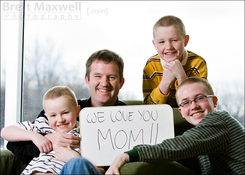 family portrait from lansing michigan portrait photographer
