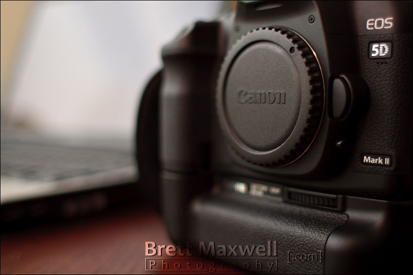 canon 5D Mark II digital camera for wedding and portrait photography
