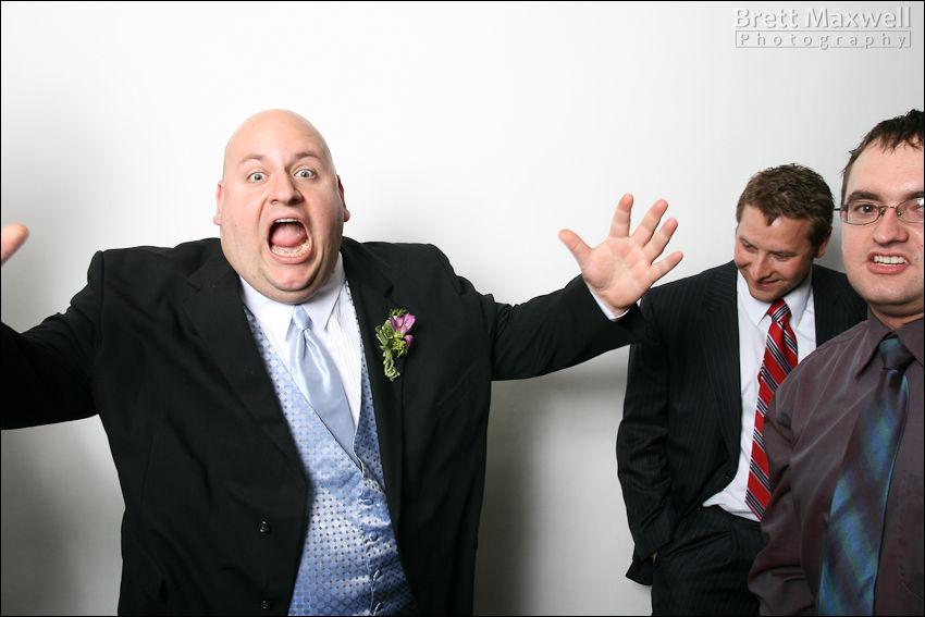 crazy groomsman