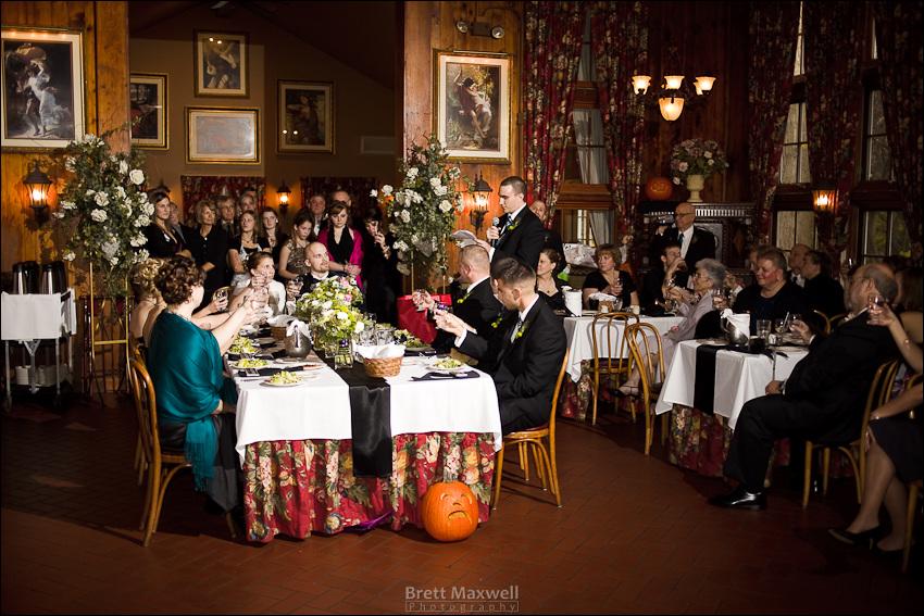 wedding toast at wellers ann arbor