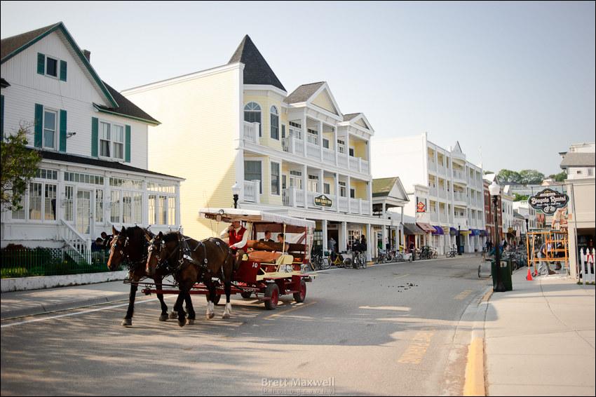 mackinaw island streets