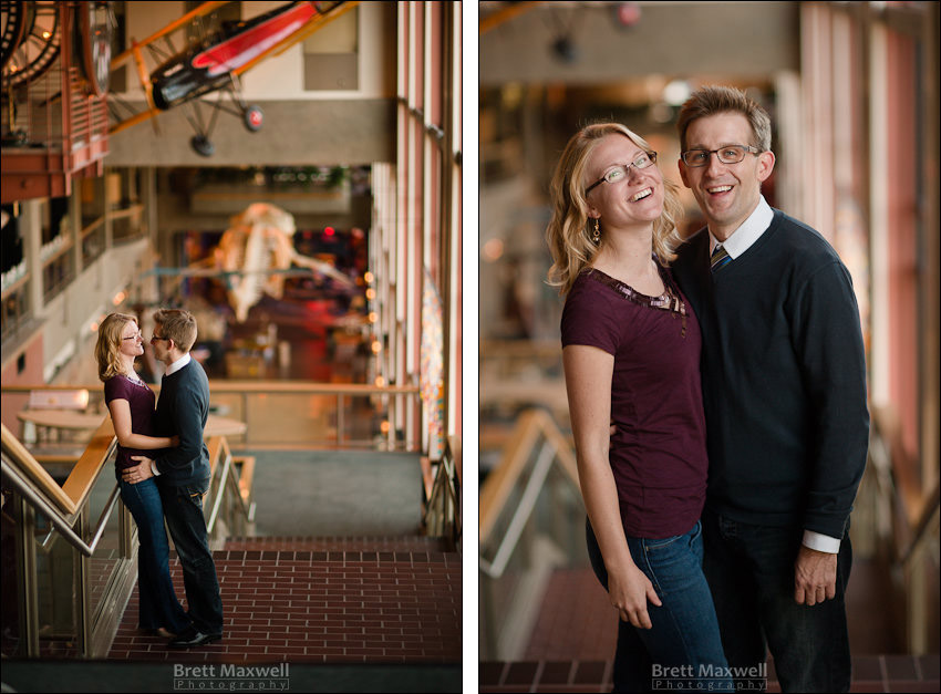 grand rapids engagement photos downtown wedding