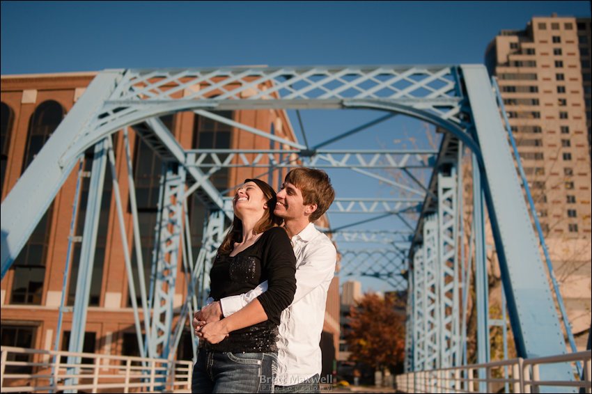 downtown grand rapids engagement photos