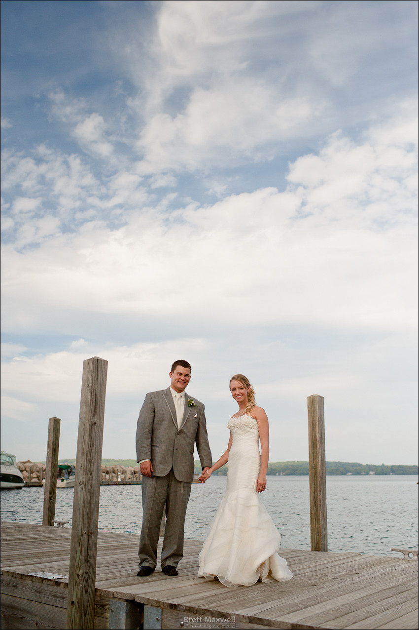 traverse city wedding portrait