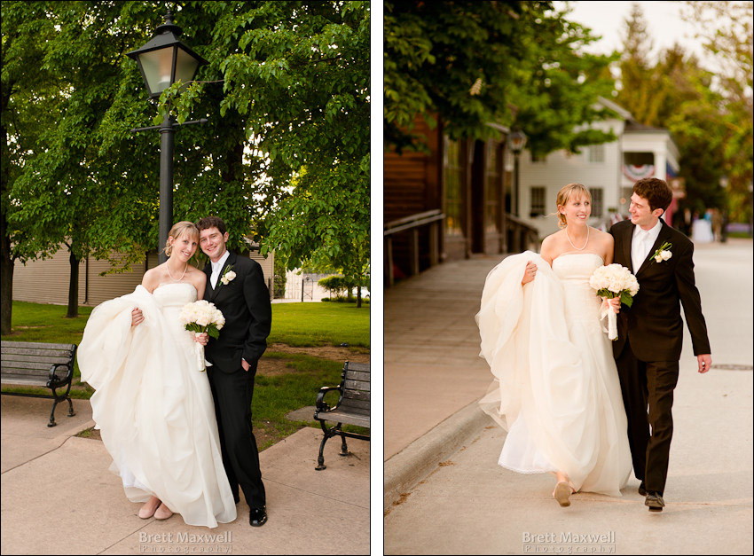 henry ford greenfield village wedding photos, dearborn michigan
