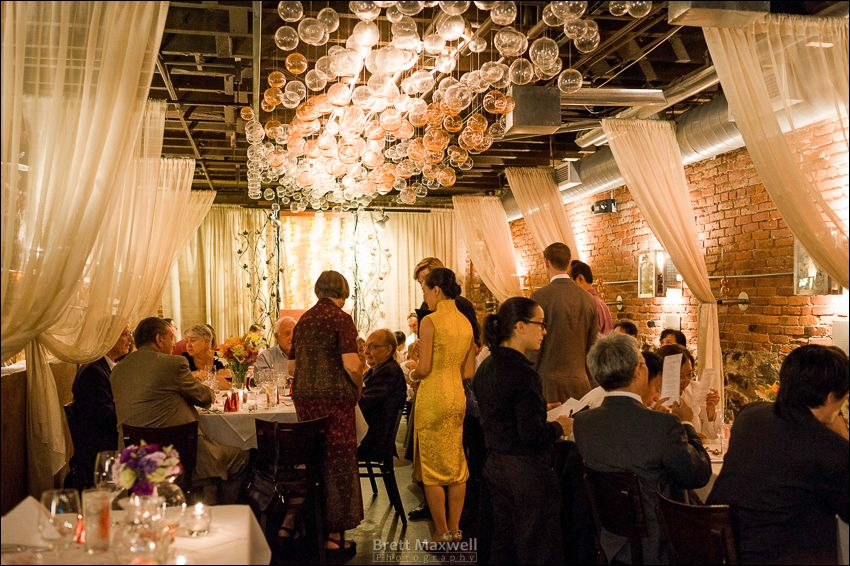 ann arbor wedding university campus vinology bubble room